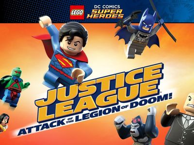 watch Lego DC Comics Super Heroes: Justice League  Attack of the Legion of Doom! streaming