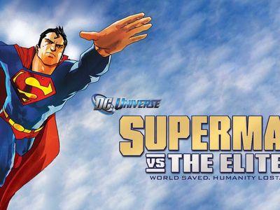 watch Superman vs. The Elite streaming