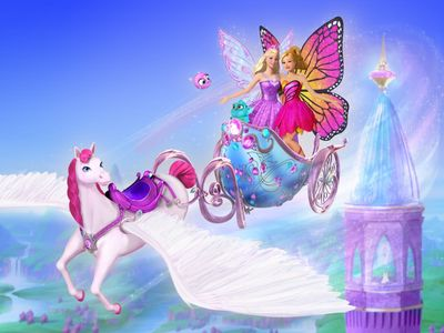 watch Barbie Mariposa & the Fairy Princess streaming