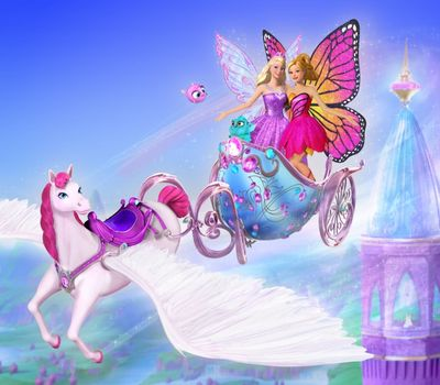 Barbie Mariposa & the Fairy Princess online