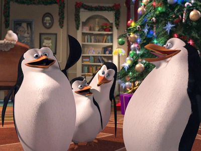 watch The Madagascar Penguins in a Christmas Caper streaming
