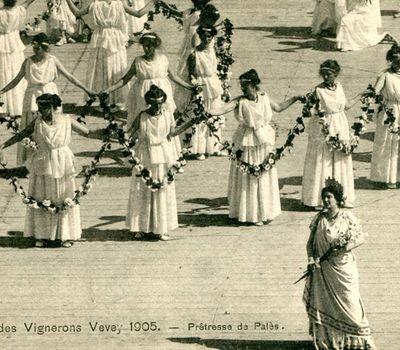 The Vintner's Festival - Vevey 1905 online