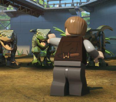 LEGO Jurassic World: The Secret Exhibit online