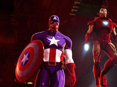 watch Iron Man & Captain America: Heroes United streaming