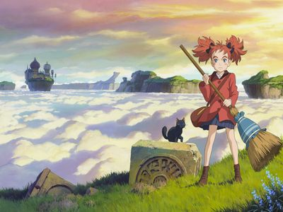 watch Mary and the Witch's Flower streaming