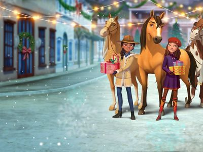 watch Spirit Riding Free: Spirit of Christmas streaming