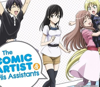 The Comic Artist and His Assistants online