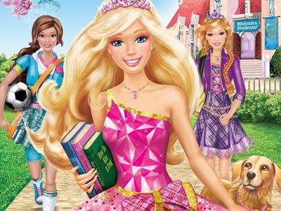 watch Barbie: Princess Charm School streaming