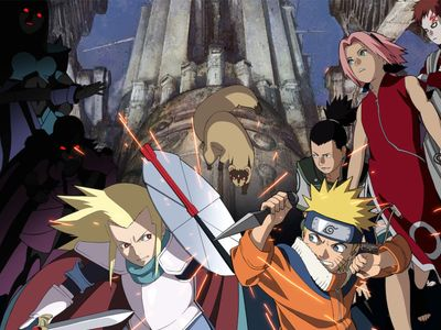 watch Naruto the Movie: Legend of the Stone of Gelel streaming