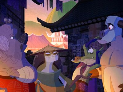 watch Kung Fu Panda: Secrets of the Masters streaming