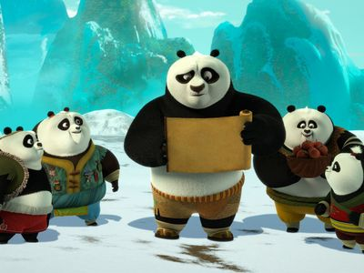 watch Kung Fu Panda: The Paws of Destiny streaming