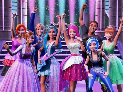 watch Barbie in Rock 'N Royals streaming