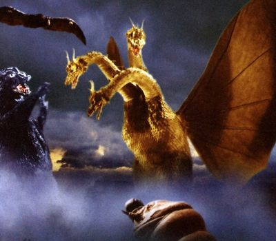 Ghidorah, the Three-Headed Monster online