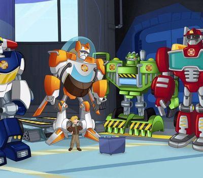 Transformers: Rescue Bots online