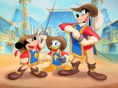 watch Mickey, Donald, Goofy: The Three Musketeers streaming
