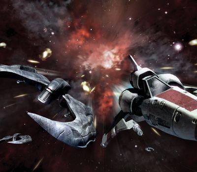Battlestar Galactica: Blood & Chrome online