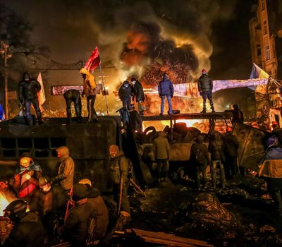 Winter on Fire: Ukraine's Fight for Freedom online