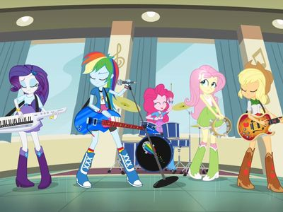watch My Little Pony: Equestria Girls - Rainbow Rocks streaming