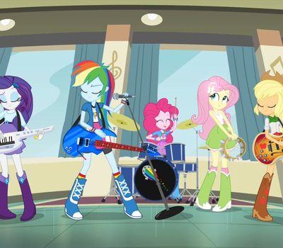 My Little Pony: Equestria Girls - Rainbow Rocks online