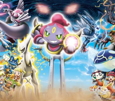 Pokémon the Movie: Hoopa and the Clash of Ages online