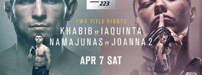 UFC 223: Khabib vs. Iaquinta online