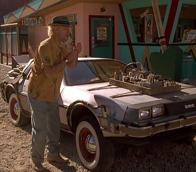 Back to the Future Part III online