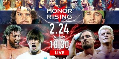 NJPW Honor Rising: Japan 2018 - Day 2 STREAMING