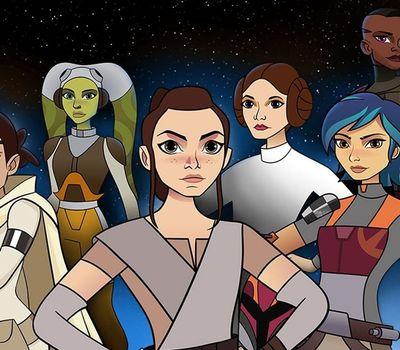 Star Wars: Forces of Destiny online