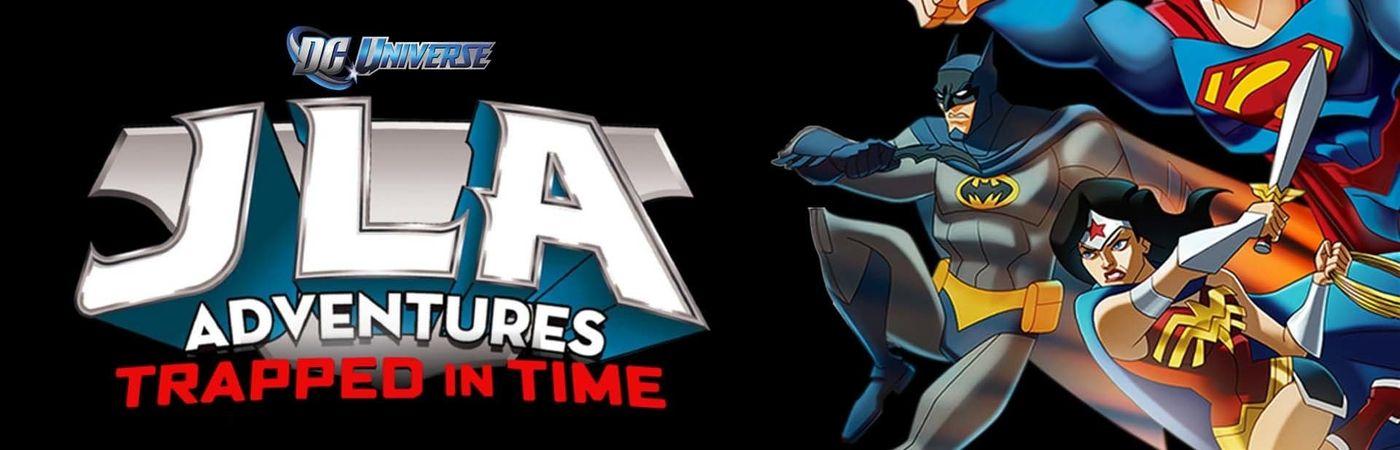 Voir film Les aventures de la ligue des justiciers - Piège temporel en streaming