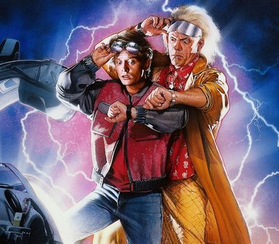 Back to the Future Part II online