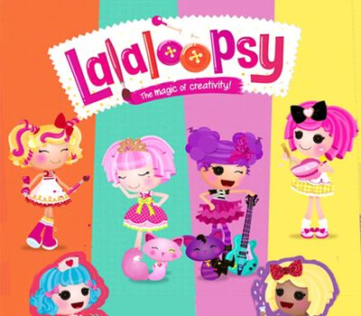 We're Lalaloopsy online
