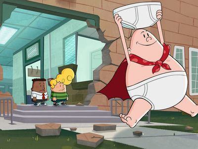 watch The Epic Tales of Captain Underpants streaming