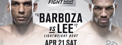 UFC Fight Night 128: Barboza vs. Lee online