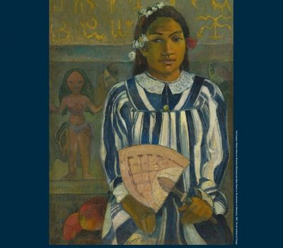 Gauguin From the National Gallery online