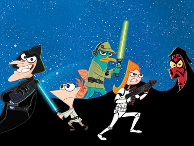 watch Phineas and Ferb: Star Wars streaming