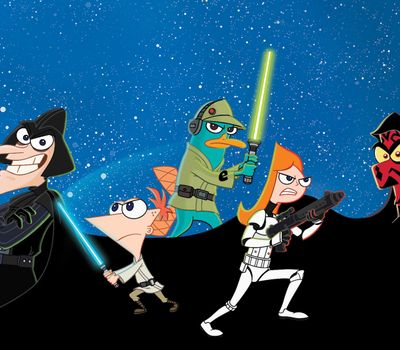 Phineas and Ferb: Star Wars online