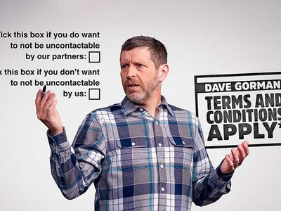 watch Dave Gorman: Terms and Conditions Apply streaming