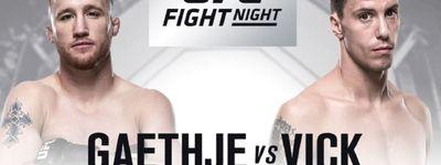 UFC Fight Night 135: Gaethje vs. Vick online