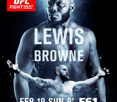 UFC Fight Night 105: Lewis vs. Browne online