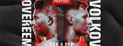 UFC Fight Night 184: Overeem vs. Volkov online