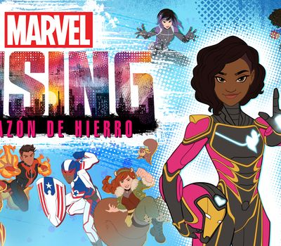Marvel Rising: Heart of Iron online
