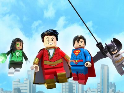 watch LEGO DC: Shazam! Magic and Monsters streaming