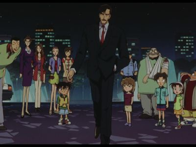 watch Detective Conan: Captured in Her Eyes streaming
