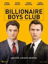 Billionaire Boys Club 2018 bluray