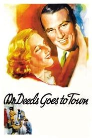 Mr. Deeds Goes to Town streaming vf