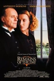 The Remains of the Day streaming vf