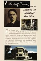 Dr Rudolf Steiner and the Science of Spiritual Realities Full movie