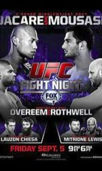 UFC Fight Night 50: Jacare vs. Mousasien streaming