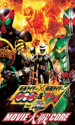 Kamen Cavalier × Kamen Rider OOO & W Avec Skull: Film War Coreen streaming
