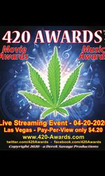 420 Awards - 2nd Annual Eventen streaming